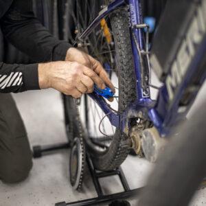 Pyörähuolto apunasi